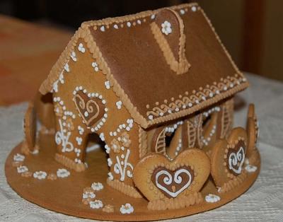Mézeskalács ház - nagy